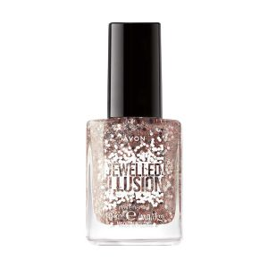 Avon True Jewelled Illusion Vernis à Ongles Sophisticated Rose Gold 1394097 10ml